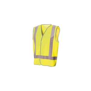 FRONTIER DAY/NIGHT VEST MEDIUM FLUORO YELLOW - EACH
