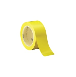 3M VINYL LINE MARKING TAPE 50MM X 33M YELLOW - ROLL