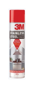 3M STAINLESS STEEL CLEANER & POLISH 200G - EACH