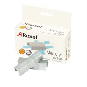 REXEL 2100928 HEAVY DUTY MERCURY STEEL STAPLERS 5/8 BOX OF 2500