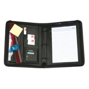 REXEL COMPENDIUM ATTACHE WITH HANDLES BLACK - EACH