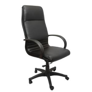 RAPIDLINE HIGH BACK PU EXECUTIVE CHAIR FOUR LOCK BLACK  - EACH