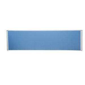 RAPIDLINE DESK MOUNTED FLAT TOP SCREEN 1500WX30DX500H BLUE  - EACH