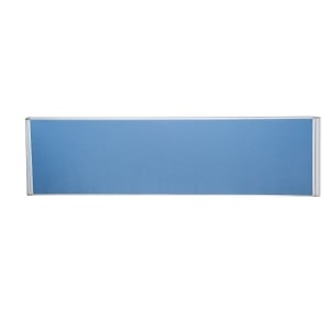 RAPIDLINE DESK MOUNTED FLAT TOP SCREEN 700WX30DX500H BLUE  - EACH
