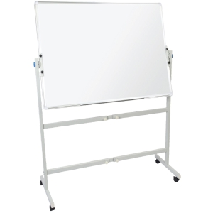 RAPIDLINE MOBILE MAGNETIC WHITEBOARD DOUBLE SIDED 1200WX900D  - EACH