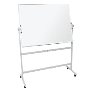 RAPIDLINE MOBILE MAGNETIC WHITEBOARD DOUBLE SIDED 1800WX900D  - EACH