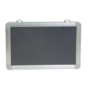 RAPIDLINE PINBOARD 900WX600 D GREY  - EACH
