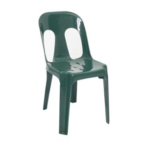 RAPIDLNE PIPEE PLASTIC STACKING CHAIR GREEN  - EACH