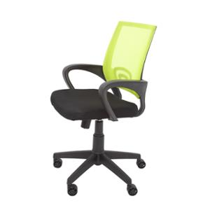 RAPIDLNE VESTA MESH BACK OPERATORS CHAIR WITH ARMS LIME  - EACH