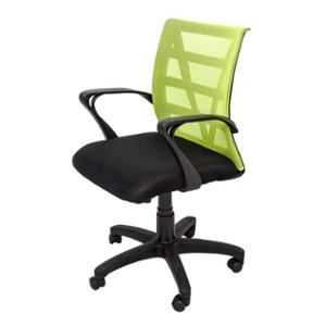 RAPIDLINE VIENNA MESH BACK OPERATOR CHAIR WITH ARMS LIME  - EACH