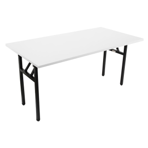 RAPIDLINE STEEL FOLDING TABLE 1800WX 900DX730H WHITE  - EACH