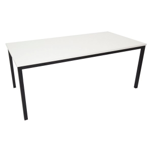 RAPIDLINE STEEL FRAME TABLE 1500WX750DX730H WHITE  - EACH