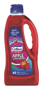 COTTEES CORDIAL APPLE RASPBERRY CRUSH 1L - EACH