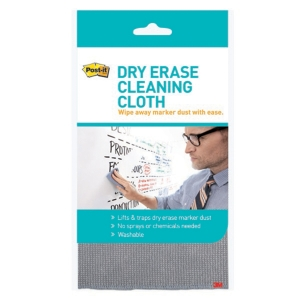 POST IT DRY ERASE CLEANING CLOTH - EACH