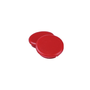 RANKWORTH FLAT MAGNETS 24MM RED - PACK OF 10
