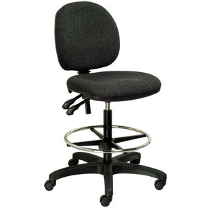SEATING SOLUTIONS DRAUGHTMAN S CHAIR CHARCOAL - EACH