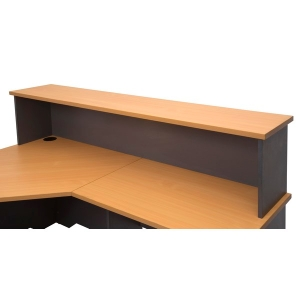RAPIDLINE DESK HOB 1800X350X400 BEECH - EACH