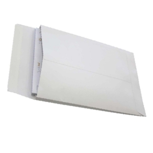 CUMBERLAND EXPANDABLE ENVELOPE 150GSM 245 X 162MM WHITE - PACK OF 25