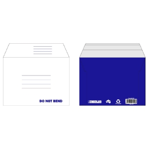 CUMBERLAND RIGID CARD BOARD MAILER C5 WHITE - PACK 25 **WHILE STOCKS LAST**