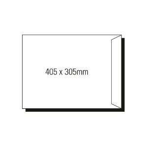 AOP 405 X 305MM POCKET PEEL-N-SEAL ENVELOPE GOLD - BOX OF 250