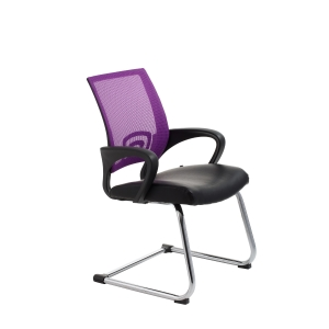 ACE VIEW VISITORS MEDIUM BACK CHAIR PURPLE - EACH