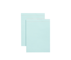 NOTE PAD A4 50 SHEET RULED BLUE - BOX OF 10