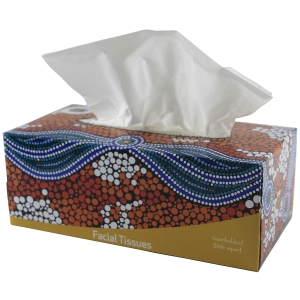 CULTURAL CHOICE INDIGENOUS TISSUES 200 SHEETS 2PLY - EACH