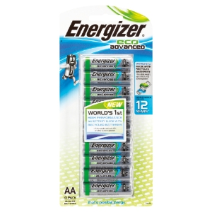 ENERGIZER ECOADVANCED AA BATTERY - PACK OF 10