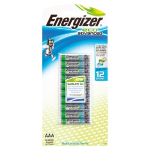 ENERGIZER ECOADVANCED AAA BATTERY - PACK OF 10
