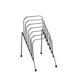 ITALPLAST SMALL 6 SLOT STEP FILE CHROME - EACH