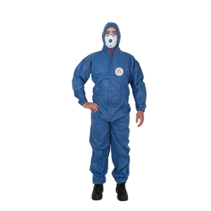 FRONTIER BLUE SHIELD COVERALLS XX-LARGE BLUE - EACH