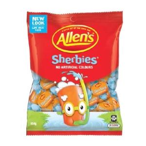 ALLEN S SHERBIES CANDIES 850G - BAG