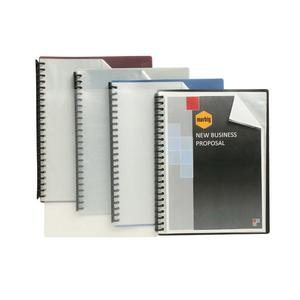 MARBIG DISPLAY BOOK 20 POCKET A4CLEAR/ BLACK - EACH