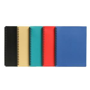 MARBIG DISPLAY BOOK HARD COVER 20 POCKET A4RED - EACH