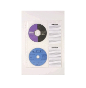 CUMBERLAND A4 CD STORAGE A4 INDEX CARD - PACK OF 10