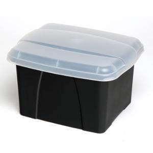 CRYSTAFILE ENVIRO PORTA BOX 32 LITRE CLEAR - EACH