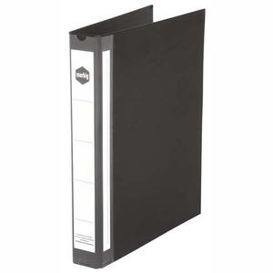 MARBIG RING BINDER  3D-RING PVC 25MM BLACK- EACH