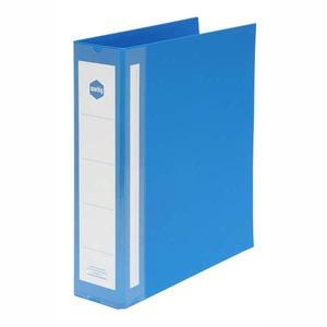 MARBIG RING BINDER  4D-RING PVC 38MM BLUE - EACH