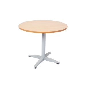 RAPIDSPAN ROUND TABLE 600D BEECH - EACH