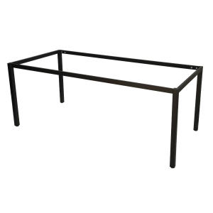 RAPIDLINE 1500X750X900  HIGH STEEL FRAME BLACK - EACH