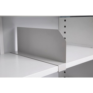 RAPIDLINE CLIP ON DIVIDER TO SUIT STANDARD SHELF 1750H WHITE CHINA - EACH