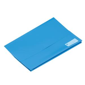 MARBIG DOCUMENT - WALLET POLYPICK WITH GUSSET FOOLSCAP BLUE  - EACH