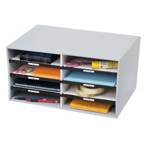 MARBIG STORAGE - BOX SORT-N-STOR 310X255X500MM GREY - EACH