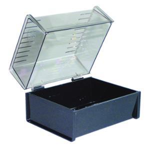 ESSELTE CARD BOXES  SWS 203X127MM BLACK - EACH