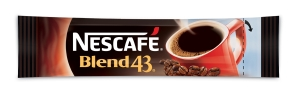 NESCAFE BLEND 43 COFFEE STICKS 1.7 GRAM - BOX OF 1000