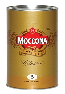 MOCCONA CLASSIC COFFEE TIN 500 GRAM - EACH