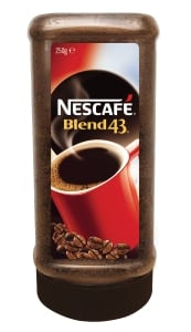 NESCAFE BLEND 43 COFFEE JAR 250G - EACH
