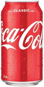 COCA-COLA CANNED DRINKS 375ML - PACK OF 24