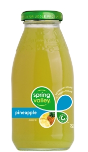 SPRING VALLEY PINEAPPLE JUICE 250ML - BOX OF 30