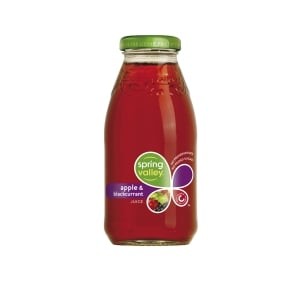 SPRING VALLEY APPLE & BLACKCURRANT JUICE 250ML - BOX OF 30